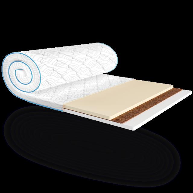 Міні-матрац Sleep&Fly mini MEMO 2в1 KOKOS жаккард